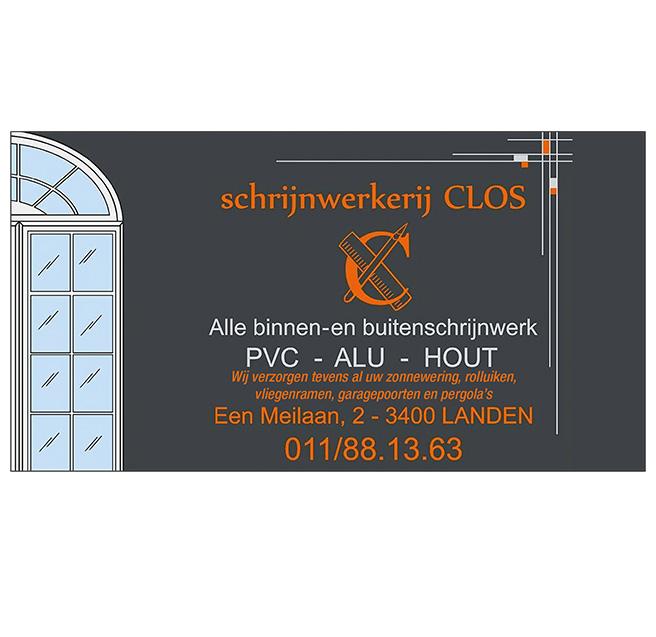 Schrijnwerkerij CLOS